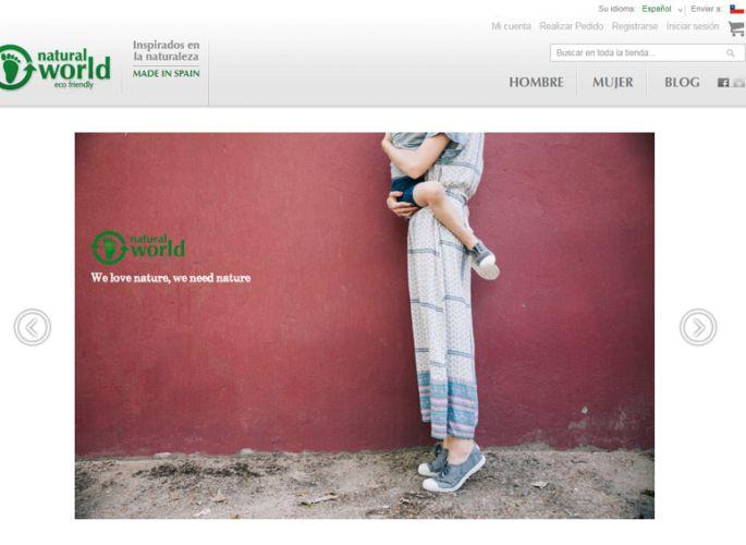 Sitio web de Natural World Eco en Chile