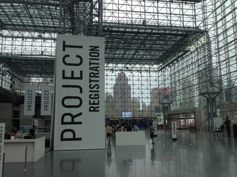Hall of the Project New York trade fair