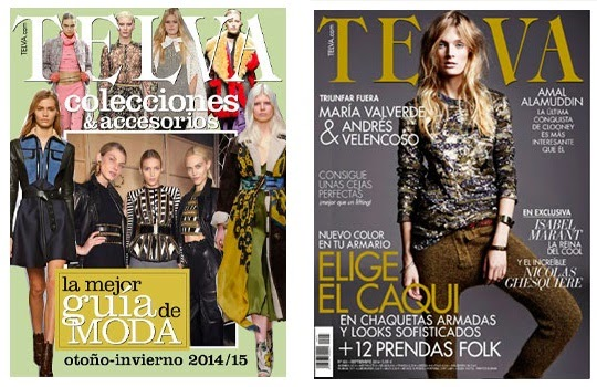 Home and supplement Telva September issue