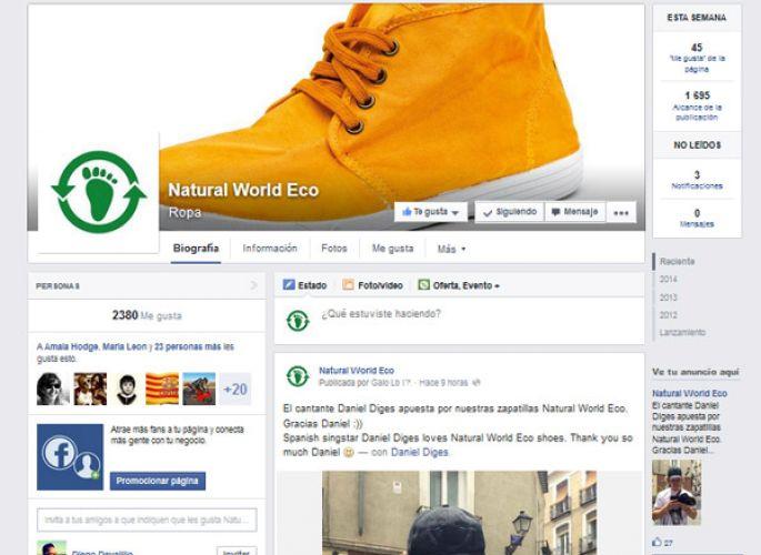 Natural World Eco en Facebook