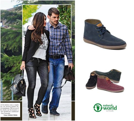 Iker Casillas y Natural World Eco