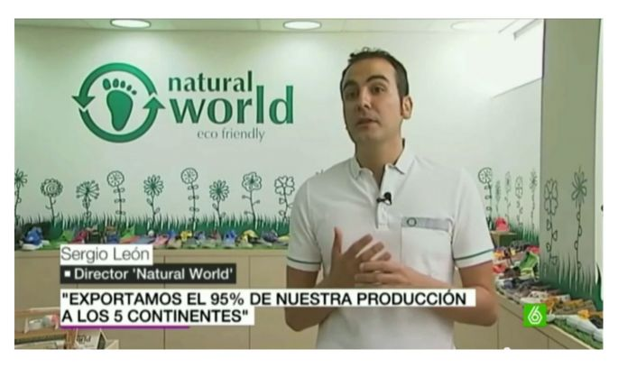 Natural World Eco en La Sexta Noticias