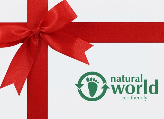 Gift card of Natural World Eco